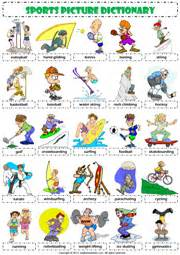 sports esl printable worksheets and exercises