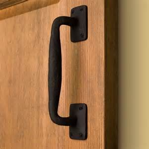 Door Pulls Sadler Curved Iron Pull Hardware