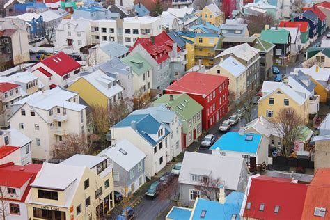 Country Homes And Interiors Blog colourful buildings shops reykjavik the culture map