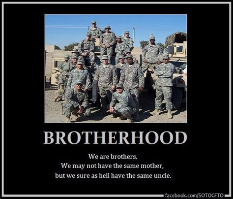 brotherhood in army brotherhood quotes quotesgram
