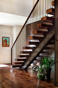 i beam and timber treads rustic industrial staircase well stair pinterest industrial