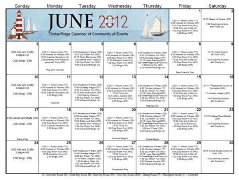 nursing home activity calendar template nursing home activity calendar template calendar picture