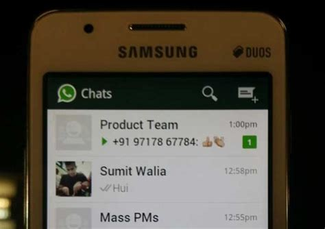 whatsapp in esecuzione su tizen grazie ad openmobile
