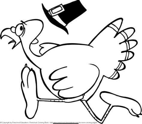 turkey trot coloring page www preschoolcoloringbook com thanksgiving coloring page