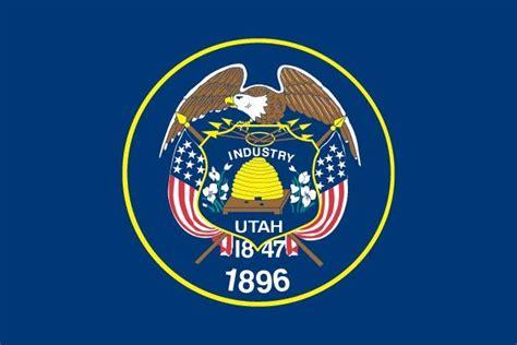 utah state flag us utah