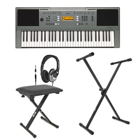 keyboard stand and bench yamaha psre353 portable keyboard with stand bench and
