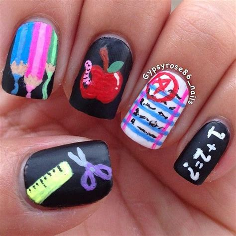 back to school nails the ultimate guide youtube back to school nail art inmoob