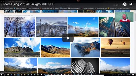 zoom  virtual background urdu aijazqureshicom