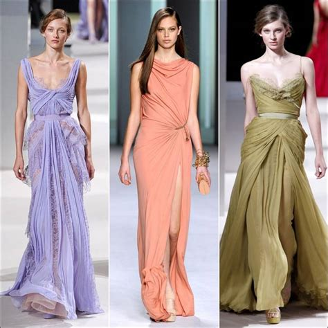 draped gowns draped gowns as party wear