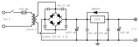 schema elettrico alimentatore switching semplice ricevitore a superreazione exesive
