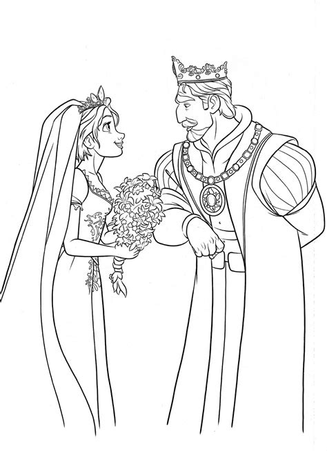 Free Rapunzel Baby Coloring Pages Baby Rapunzel Coloring Pages