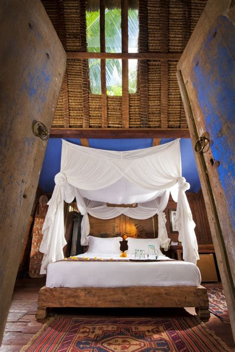 Flanel Biru Manis Set biru house bambu indah