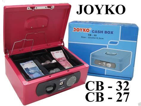 Limited Box Joyko Cb 27 cashbox joyko cb32 cb27 dari bina mandiri stationery di