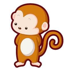 猴子尾巴卡通图片 图片大全