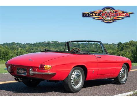 1967 alfa romeo for sale 1967 alfa romeo duetto for sale classiccars cc 791579