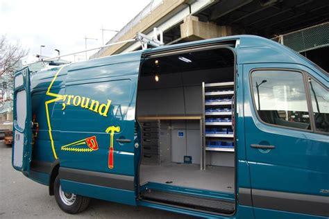 van work bench sprinter van shelving equipment and accessories