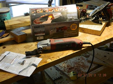 woodworking power tool reviews review harbor freight oscillating multifunction power