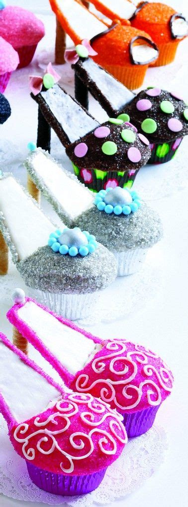 Cupcakes Served By A Fashionista by Best 25 High Heel Cupcakes Ideas On High