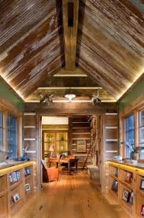 Ideas family room industrial with porch great room metal ceiling