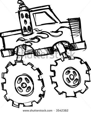 monster trucks drawings monster truck clip art for birthday clipart panda free