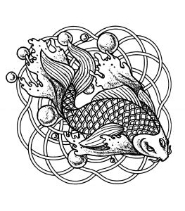Galerry flower coloring page pdf