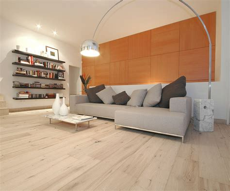 light wood flooring living room contemporary with white wide plank wood floors in living rooms contemporary living