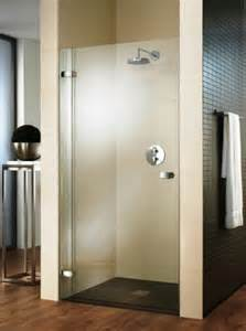 hinged shower door advice and information