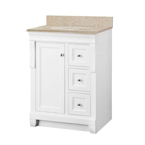 Foremost Naples Vanity White by Foremost Naples 25 In X 19 In Vanity In White And