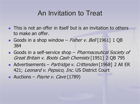 draw the law what is an offer the blawg of ryan k hew invitation treat definition law choice image invitation