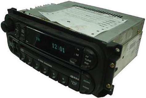 chrysler sebring factory oem  disc cd changer