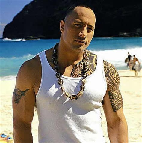 the rock tattoo dwayne johnson tattoos