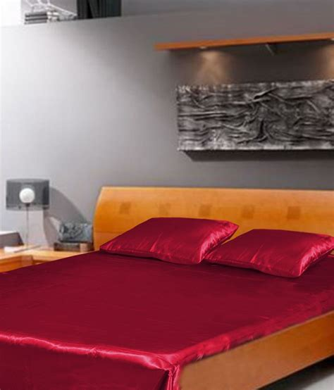 maroon bed sheets dreams purple plain bed sheets best price in india on 23rd january 2018 dealtuno
