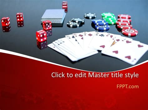 Free Card Game Powerpoint Template Free Powerpoint Templates Card Powerpoint Template