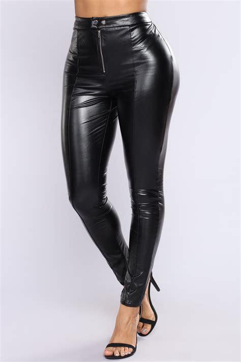 home products on sale bottoms leggings parides leggings 05 krissie faux leather pants black