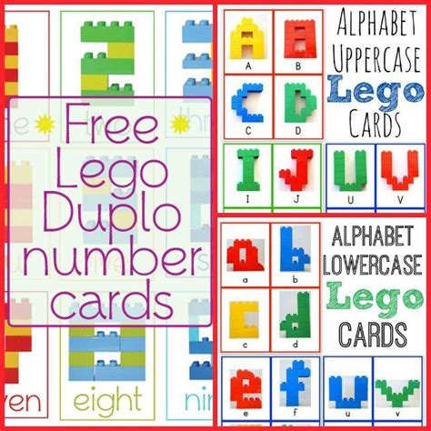 free lego printable letters 17 best images about duplo ideas on pinterest toddlers