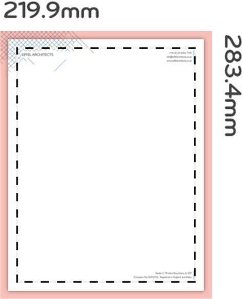 business letterhead size luxe letterheads professional business letterheads moo