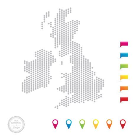 map uk vector free uk map vector in dots and icon pointers ian barnard