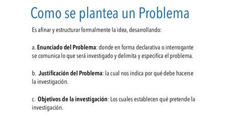 preguntas de investigacion tecnologica 191 c 243 mo evaluar el planteamiento de tu problema de