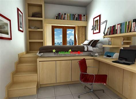 desain interior kamar tidur anak ukuran kecil
