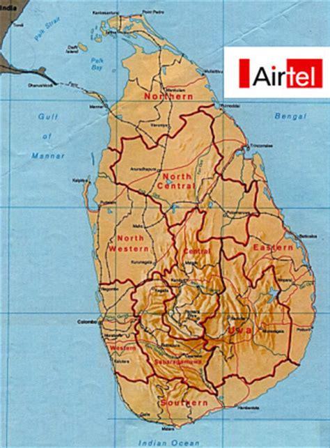 bharti mobile bharti airtel to provide mobile services in sri lanka