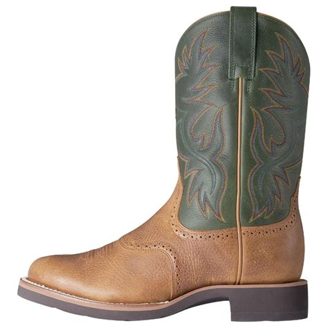 ariat mens heritage boots s ariat 174 heritage crepe western boots 109958 cowboy
