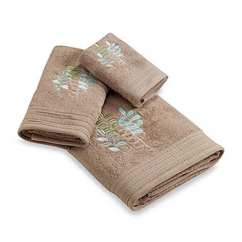 leaf pattern bath towels botanical leaf bath towel bed bath beyond