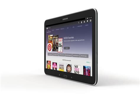 Samsung Tab 4 Nook samsung and barnes noble announce 10 1 inch version of