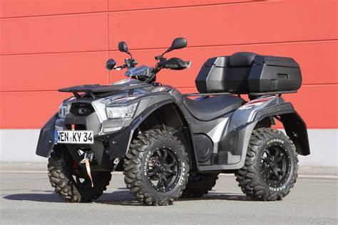 Darf Quad Motorrad Parkplatz Parken by Neues Kymco Quad Allrad Auf Acker Und Autobahn Magazin