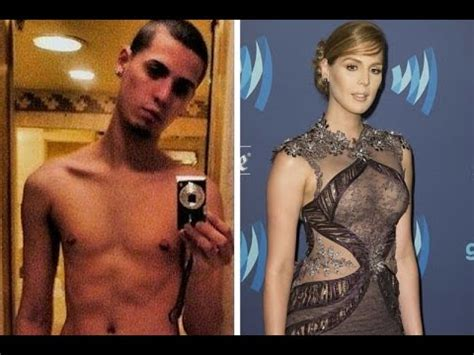 male to female transition carmen carrera youtube carmen carrera before and after in photos youtube