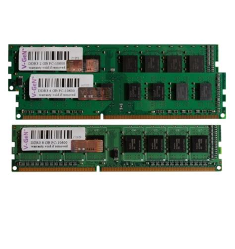 Termurah Memory Ram Laptop Ddr3 4gb Pc 3l Low Voltage vgen ddr3 pc 2gb 10600 12800 dimm tans computer