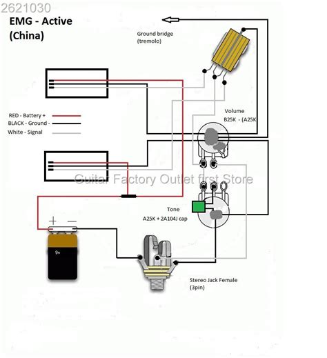 emg select wiring diagram wiring diagram with