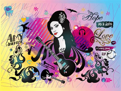 soulful house music collage amy winehouse collage