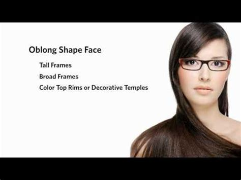 oblong face shape with big nose eyeglasses for an oblong face shape with a long nose