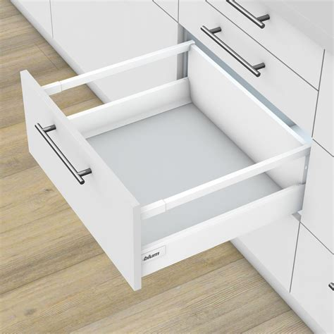 tipologie di lade blum tandembox antaro wit lades op maat kast keuken nl